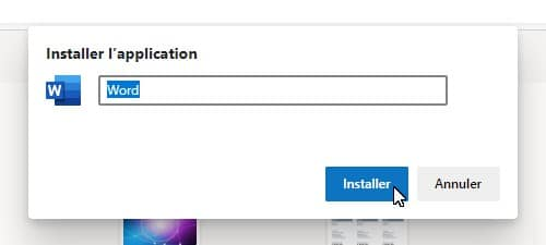 Installer l'application